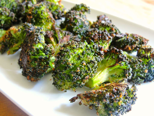 Broccoli oven roasted