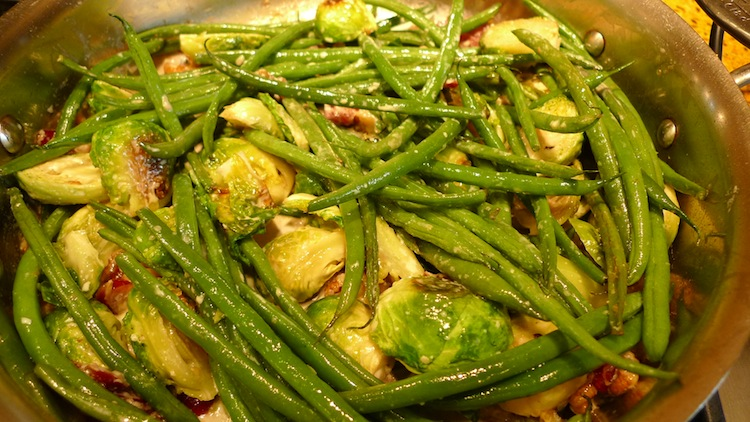 Roasted-Brussels-Sprouts-with-Haricot-Vert